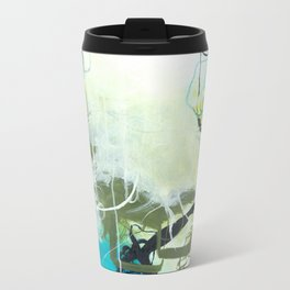 Everglades - Square Abstract Expressionism Metal Travel Mug