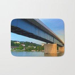 Bridge across the river Danube II   architectural photography Bath Mat
