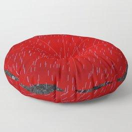 Umbrella and boots Floor Pillow