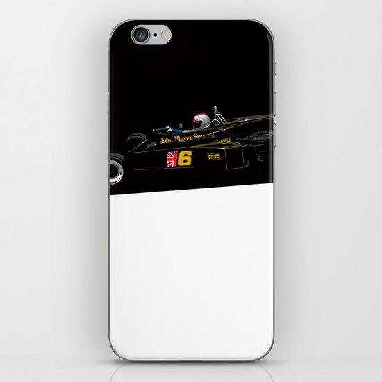 Mario Andretti, Lotus 77, 1976 iPhone & iPod Skin