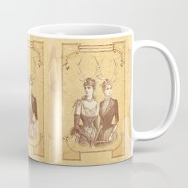 Sisters Emmaline And Cornelia Always Wore The Biggest Hats Coffee Mug