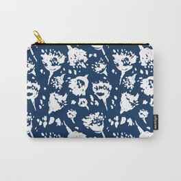 Seed Pod Indigo Carry-All Pouch