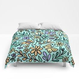 Butterflies and Bee Comforters