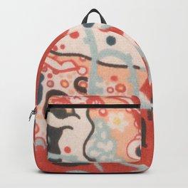 "Gustav Klimt ""Textile design - Model 3"" Backpack"