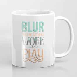 Work and Play Coffee Mug