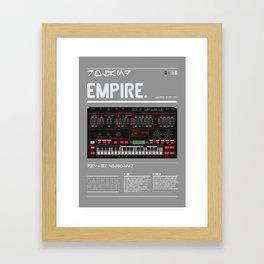 202_EMPIRE MASTER Framed Art Print