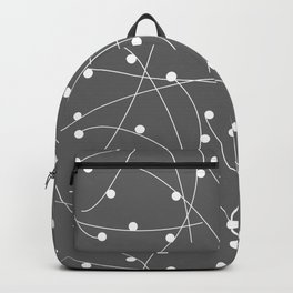 Dots & Lines - Graphite Backpack