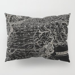 Venezuela Antique Map Pillow Sham
