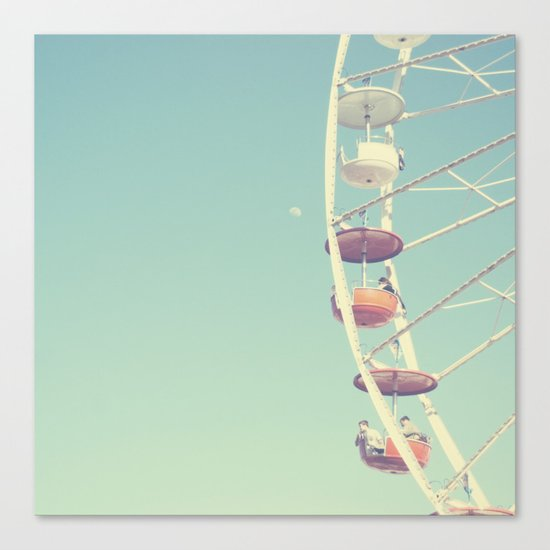 Touch the Moon Canvas Print