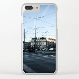 Streets of Budapest Clear iPhone Case