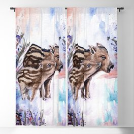 Year of the Boar Blackout Curtain