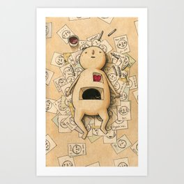 The Illustrator Art Print