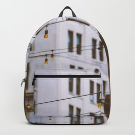 New York City Buildings and Lights (Color) Backpack