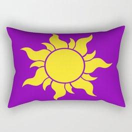 Rapunzel's Golden Sun Rectangular Pillow