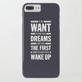Lab No. 4 If You Want To Make J.M. Power Life Inspirational Quote iPhone Case
