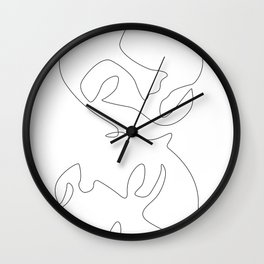 Mirroring Wall Clock
