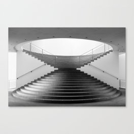 Stairs Architecture Canvas Print