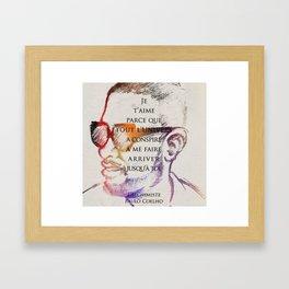For Jou Framed Art Print