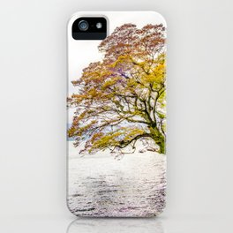 Tree Above Water iPhone Case