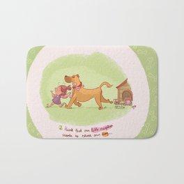 Little neighbor! Pets! Bath Mat