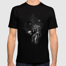 Deep Sea Space Diver Black Mens Fitted Tee LARGE