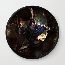 League of Legends YASUO Wall Clock