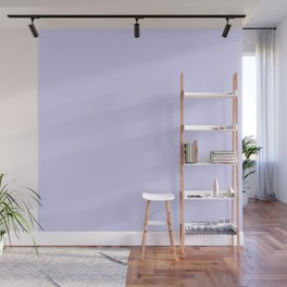 Simply Periwinkle Purple Wall Mural