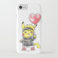 projectrocket iPhone & iPod Cases featuring iHeart Birdychu by Randy C