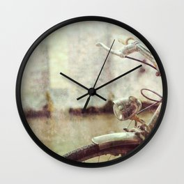 The Old Bicycle Wall Clock