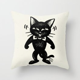 Funny funny Throw Pillow