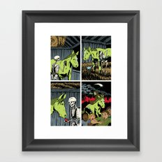 Death and his Pale Horse Framed Art Print