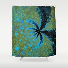 Gnarly Summer Shower Curtain