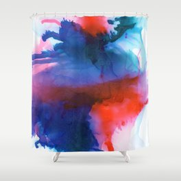 The Dancer - Abstract Art Shower Curtain
