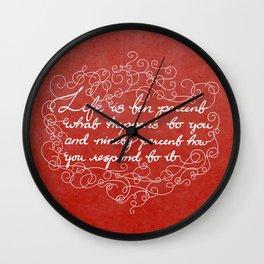Ninety percent Wall Clock