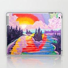 80's SUNDOWN Laptop & iPad Skin
