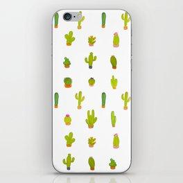 Mind-calming cactuses iPhone Skin
