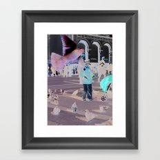 Fly By Framed Art Print