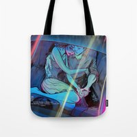 concert Tote Bags featuring Concert Pitch by Mike Malbrough