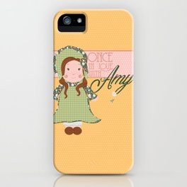 Once in Love with Amy iPhone Case