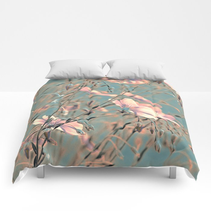 Flax silver Comforters