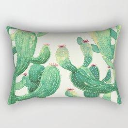 huge twin cactus Rectangular Pillow
