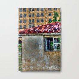 The Pool House Metal Print