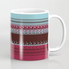 Geometric Spring Texture Coffee Mug