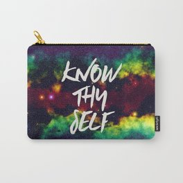 Know Thy Self Carry-All Pouch