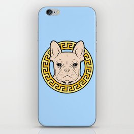 French Caviar - Baby Blue iPhone Skin