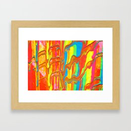 The Manipulation Of Paint #9 Framed Art Print