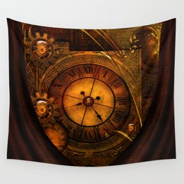 Awesome noble steampunk design Wall Tapestry