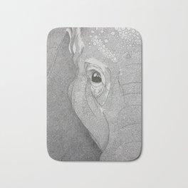 A mazing elephant II Bath Mat