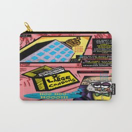 Bird of Steel Comix - Page #3 of 8 (Society 6 POP-ART COLLECTION SERIES)  Carry-All Pouch