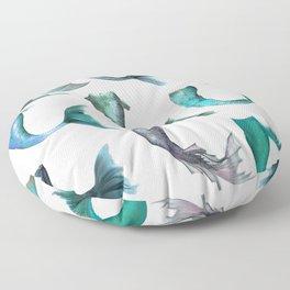 Mermaid Tails Floor Pillow